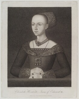 Elizabeth Woodville, by Georg Siegmund Facius, published by  William Richardson, after  Thomas Kerrich, published 1 August 1803 - NPG D19617 - © National Portrait Gallery, London