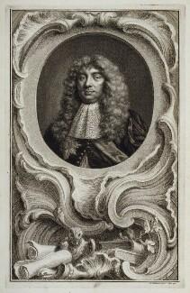 John Maitland, Duke of Lauderdale, by Jacobus Houbraken, after  Sir Peter Lely - NPG D19622