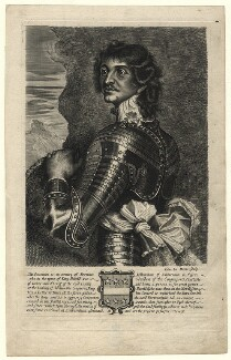 Probably Charles Stanley, 8th Earl of Derby, by Edward Davis (Le Davis), after  Adriaen Hanneman - NPG D16538