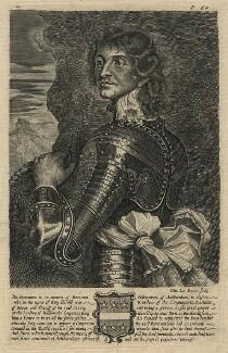 Probably Charles Stanley, 8th Earl of Derby, by Edward Davis (Le Davis), after  Adriaen Hanneman - NPG D16539