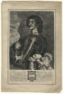 Probably Charles Stanley, 8th Earl of Derby, by Edward Davis (Le Davis), after  Adriaen Hanneman - NPG D16540