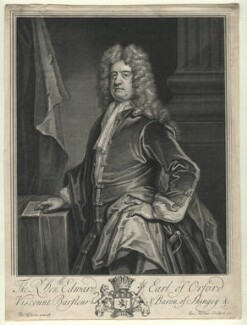 Edward Russell, Earl of Orford, by George Vertue, after  Thomas Gibson - NPG D16541
