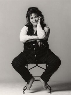 Dawn French, by Trevor Leighton - NPG x47379