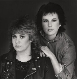 Dawn French; Jennifer Saunders, by Trevor Leighton - NPG x29720