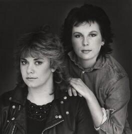Dawn French; Jennifer Saunders, by Trevor Leighton, 1984 - NPG x29720 - © Trevor Leighton / National Portrait Gallery, London