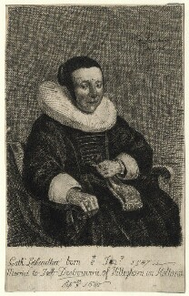 Catharine Desbouverie (née Lethieullier), after Isaack Luttichuys - NPG D16451