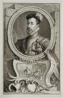 Robert Dudley, 1st Earl of Leicester, by Jacobus Houbraken - NPG D19634