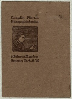 Cavendish Morton, by Cavendish Morton - NPG D16544