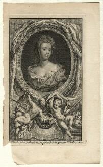 Sarah Churchill (née Jenyns (Jennings)), Duchess of Marlborough, by Johann Sebastian Müller, after  Sir Godfrey Kneller, Bt, mid 18th century - NPG D16550 - © National Portrait Gallery, London