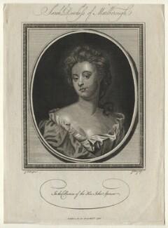 Sarah Churchill (née Jenyns (Jennings)), Duchess of Marlborough, by John Goldar, after  Sir Godfrey Kneller, Bt - NPG D16552