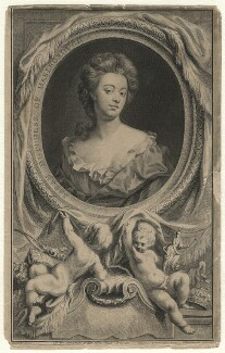 Sarah Churchill (née Jenyns (Jennings)), Duchess of Marlborough, by Jacobus Houbraken, published by  John & Paul Knapton, after  Sir Godfrey Kneller, Bt, 1745 - NPG D16553 - © National Portrait Gallery, London