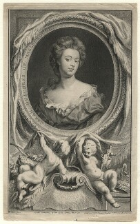 Sarah Churchill (née Jenyns (Jennings)), Duchess of Marlborough, by Jacobus Houbraken, published by  John & Paul Knapton, after  Sir Godfrey Kneller, Bt - NPG D16554