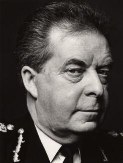 Peter Michael Imbert, Baron Imbert, by Trevor Leighton - NPG x32783