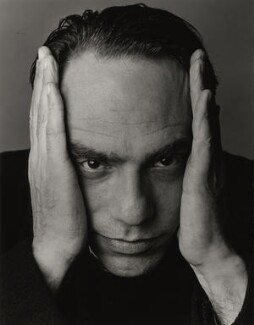 Derek Jarman, by Trevor Leighton - NPG x35319