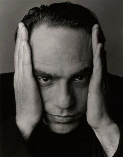 Derek Jarman, by Trevor Leighton, 1990 - NPG x35319 - © Trevor Leighton / National Portrait Gallery, London