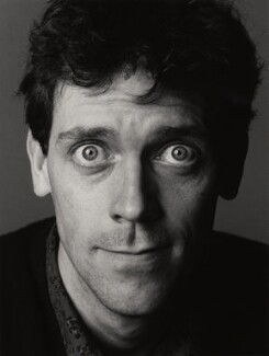 Hugh Laurie, by Trevor Leighton, 23 April 1990 - NPG  - © Trevor Leighton / National Portrait Gallery, London