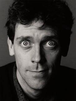 Hugh Laurie, by Trevor Leighton - NPG x35307