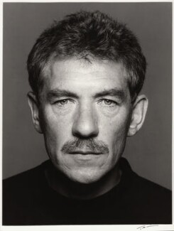 Ian McKellen, by Trevor Leighton, 24 July 1989 - NPG x35351 - © Trevor Leighton / National Portrait Gallery, London