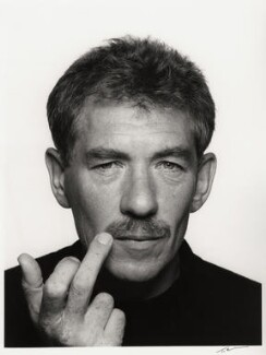 Ian McKellen, by Trevor Leighton, 24 July 1989 - NPG x35348 - © Trevor Leighton / National Portrait Gallery, London