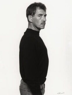 Ian McKellen, by Trevor Leighton, 24 July 1989 - NPG x35349 - © Trevor Leighton / National Portrait Gallery, London