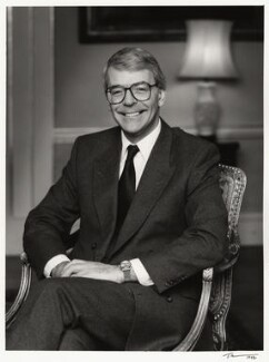 John Major, by Trevor Leighton - NPG x38237
