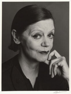 Jean Muir, by Trevor Leighton - NPG x30337