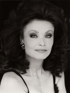 Kate O'Mara, by Trevor Leighton - NPG x35321