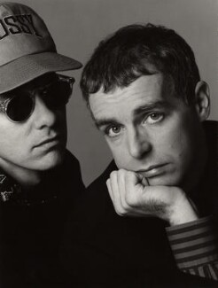 Pet Shop Boys (Chris Lowe; Neil Tennant), by Trevor Leighton - NPG x35746