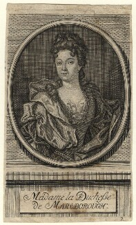 Sarah Churchill (née Jenyns (Jennings)), Duchess of Marlborough, after Sir Godfrey Kneller, Bt - NPG D16546