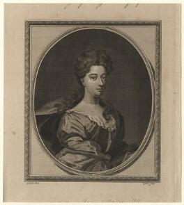 Sarah Churchill (née Jenyns (Jennings)), Duchess of Marlborough, by John Goldar, after  Sir Godfrey Kneller, Bt - NPG D16545