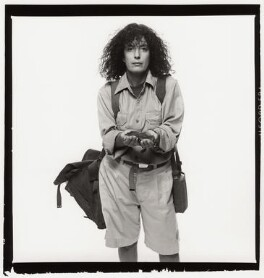 Dame Anita Roddick, by Trevor Leighton, 1989 - NPG x35347 - © Trevor Leighton / National Portrait Gallery, London