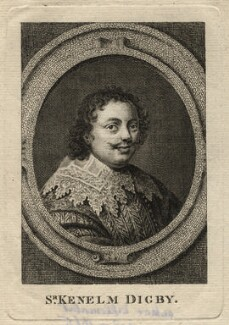 Sir Kenelm Digby, after Peter Oliver - NPG D16559