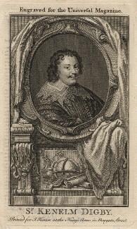 Sir Kenelm Digby, after Peter Oliver - NPG D16560