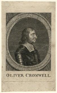 Oliver Cromwell, after Samuel Cooper - NPG D16563