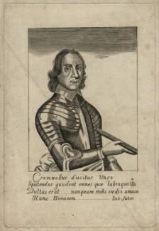 Oliver Cromwell, after Robert Walker - NPG D16573
