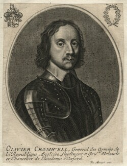 Oliver Cromwell, by François Mazot, after  Robert Walker - NPG D16574