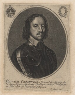 Oliver Cromwell, by François Mazot, after  Robert Walker - NPG D16575