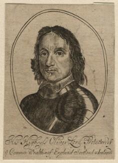 Oliver Cromwell, after Robert Walker - NPG D16579