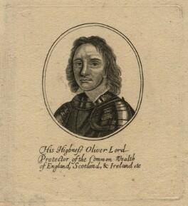 Oliver Cromwell, after Robert Walker - NPG D16578