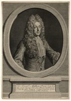 Matthew Prior, after Alexis Simon Belle - NPG D16598