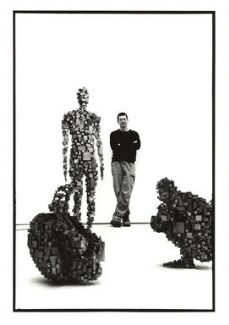 Sir Antony Gormley, by Simon Thompson - NPG x126711