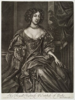 Mary of Modena when Duchess of York, published by Alexander Browne, after  Sir Peter Lely - NPG D19676