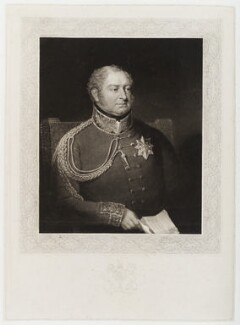 King William IV, by Thomas Goff Lupton, after  Abraham Wivell - NPG D19679