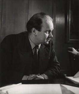 Sir Peter Markham Scott, by John Gay - NPG x126522