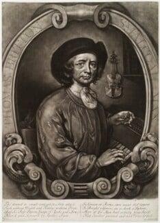 Thomas Britton, by Thomas Johnson, after  John Wollaston - NPG D19690