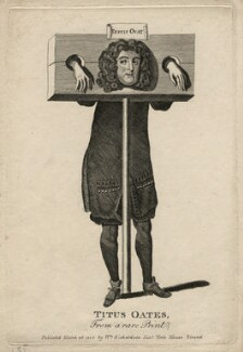 Titus Oates, published by William Richardson - NPG D16605