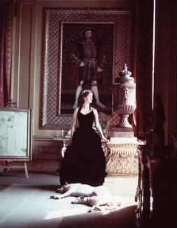 Deborah Vivien Cavendish (née Freeman-Mitford), Duchess of Devonshire, by Norman Parkinson - NPG x30081
