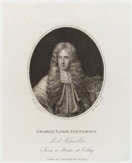 George Jeffreys, 1st Baron Jeffreys of Wem, by William Bond, published by  Philip Yorke, after  Joseph Allen - NPG D19694