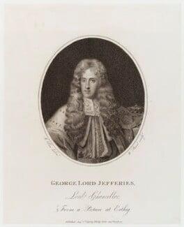 George Jeffreys, 1st Baron Jeffreys of Wem, by William Bond, published by  Philip Yorke, after  Joseph Allen, published 1 August 1798 - NPG D19694 - © National Portrait Gallery, London