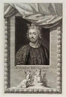 King John, by George Vertue - NPG D19699